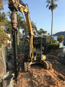 Avalon Earthworks foundation work service northern beaches