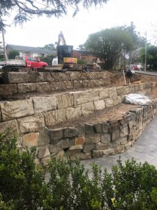 Avalon Earthworks land stabilisation northern beaches