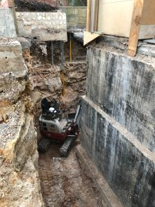Avalon-Earthmoving-confined space excavations avalon
