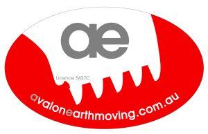 Avalon Earthmoving Logo